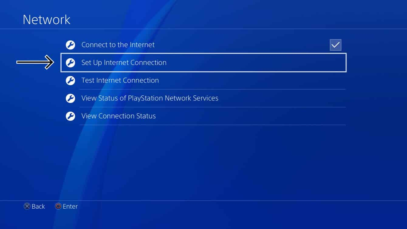 "Select ""Set Up Internet Connection."""