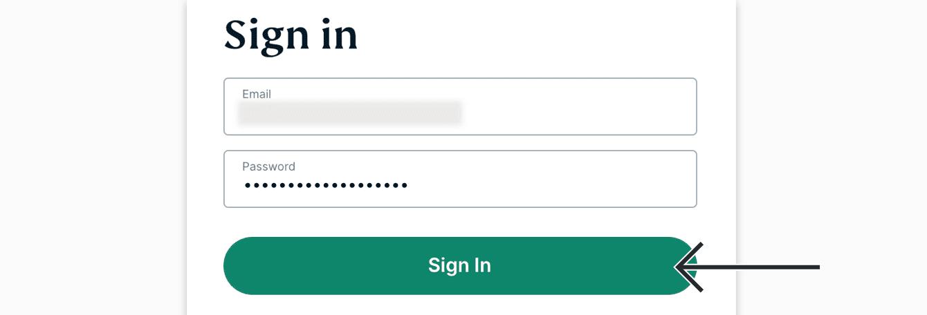 """Voer uw ExpressVPN inloggegevens en klik vervolgens op """"Inloggen."""""""