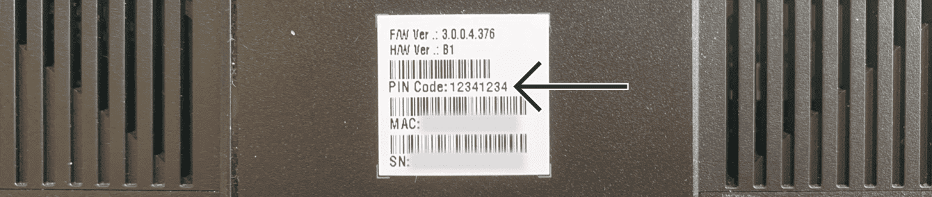 You can find the default network password on a separate label on your Asus router.