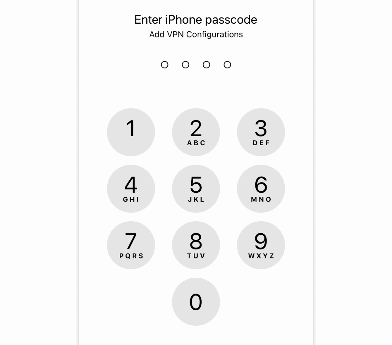 Use your Touch ID or enter your passcode on your phone.
