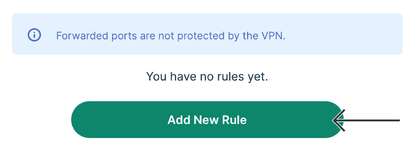 "Select ""Add New Rule."""