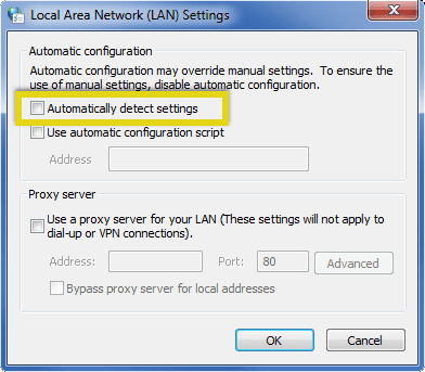 chrome-lan-options