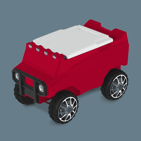 RED ROVER COOLER