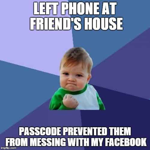 Set up passcode protection