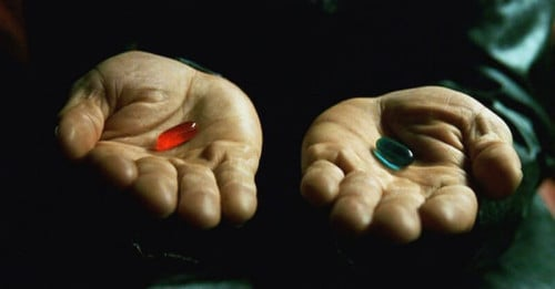 Matrix Blue Pill Red Pill