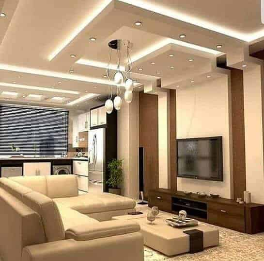 multi-layer false ceiling design