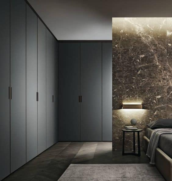 L-shaped wardrobes for space-efficient furniture