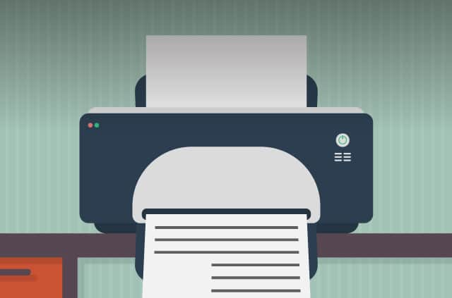 Printers could give away personal information.