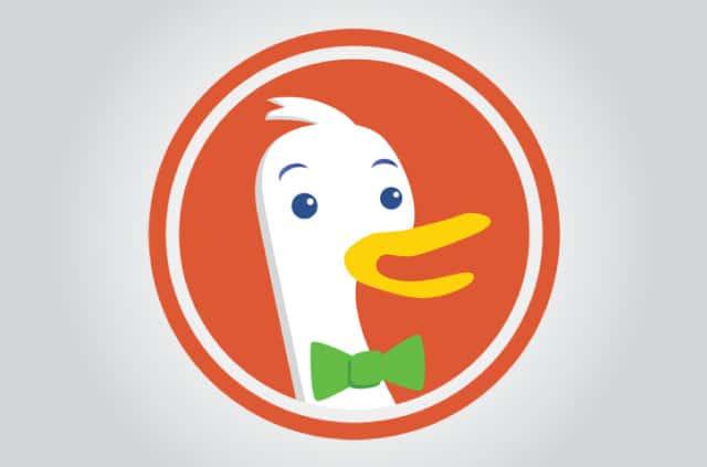 The DuckDuckGo logo