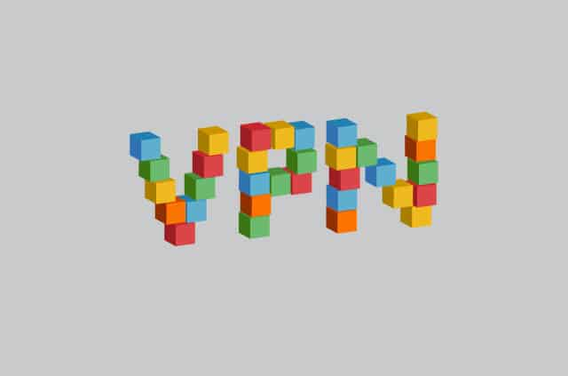The letters V, P, and N. Except it looks like they're built with a child's building blocks.