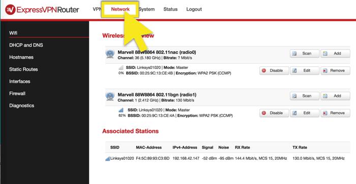 click-network-tab