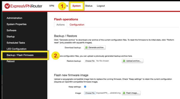 system-flash