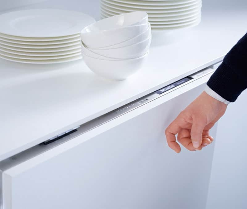 Touch to open drawers