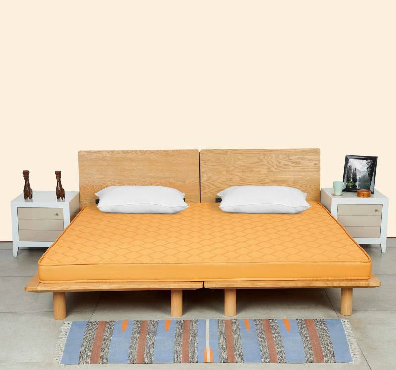 Starlite Select by Sleepwell Extra Firm PAF 4 inch Double PU Foam Mattress
