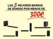 Las 5 mejores barras de sonido 2021 por menos de 300€