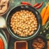 Lebensmittel für vegane Ernährung