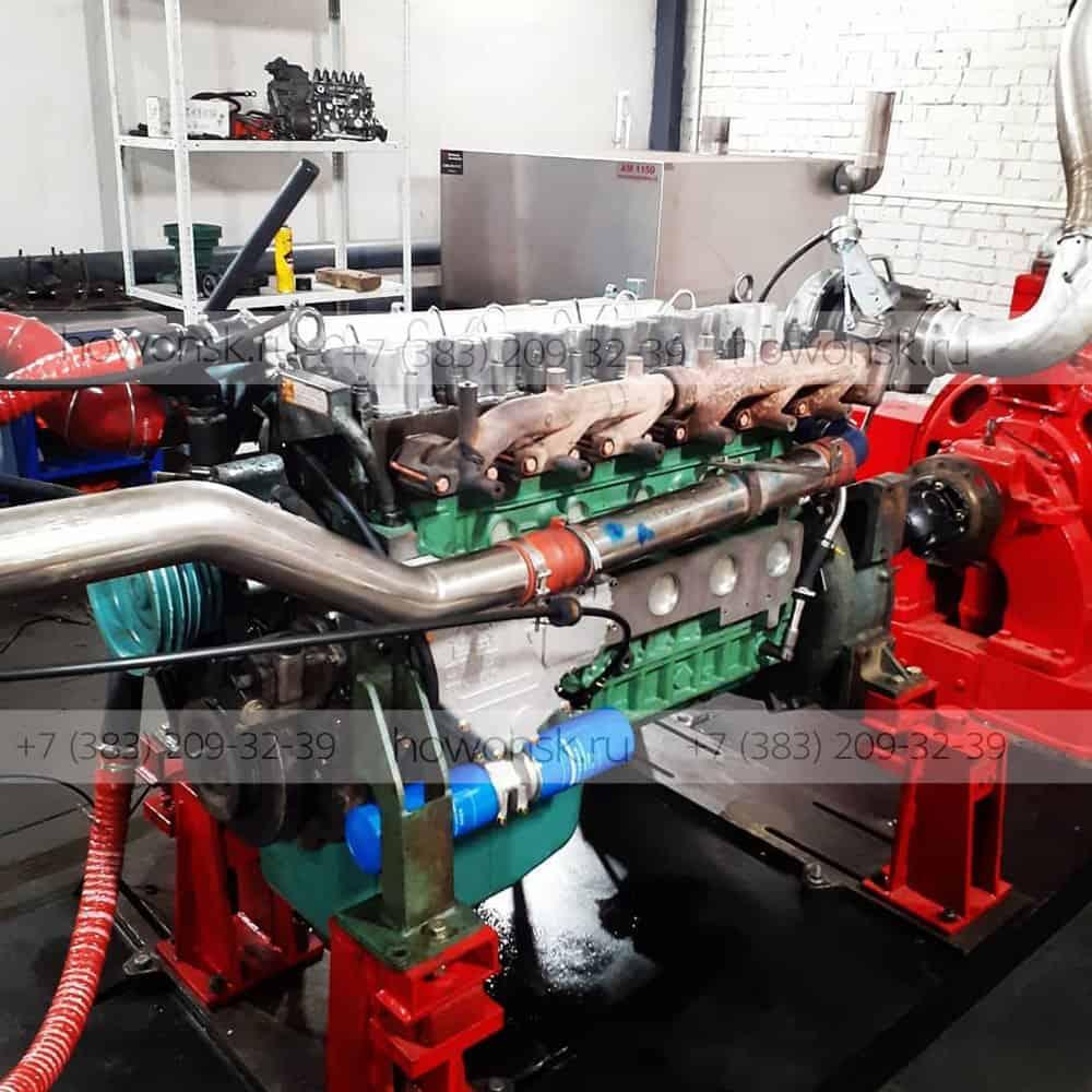 Ремонт дизельных двигателей Weichai, Sinotruck