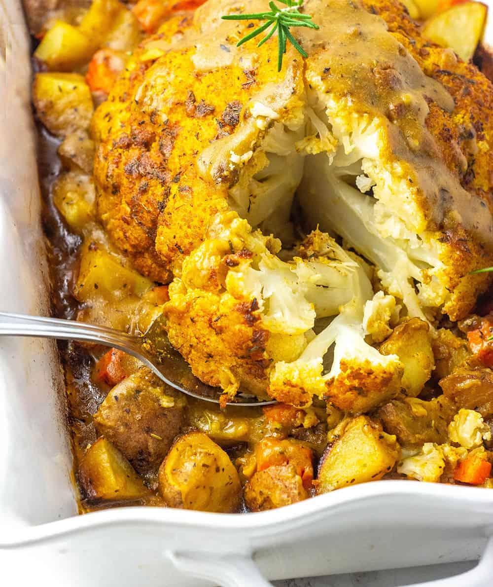 Best Whole Roasted Cauliflower