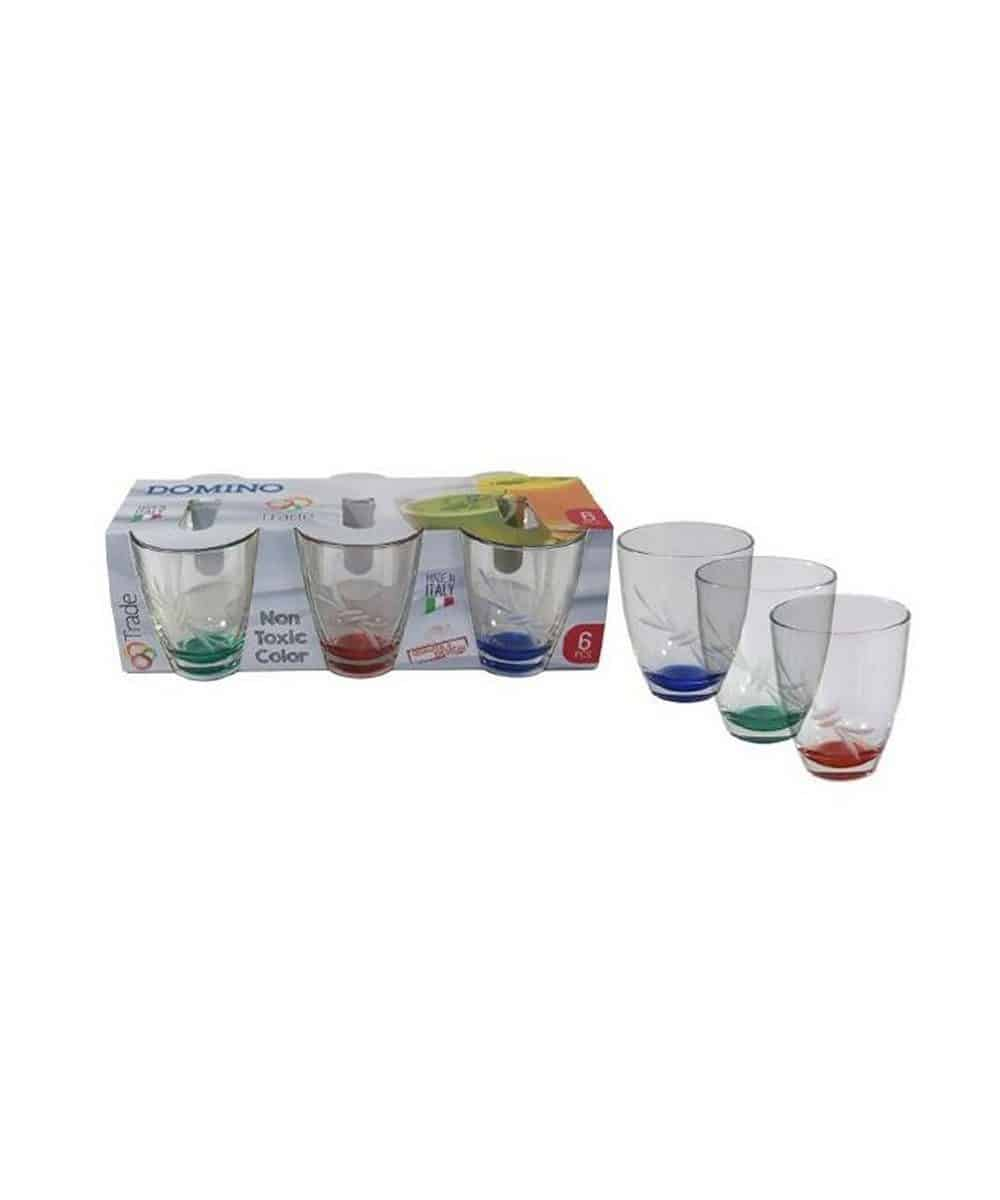 Bicchiere Fondo Colorato