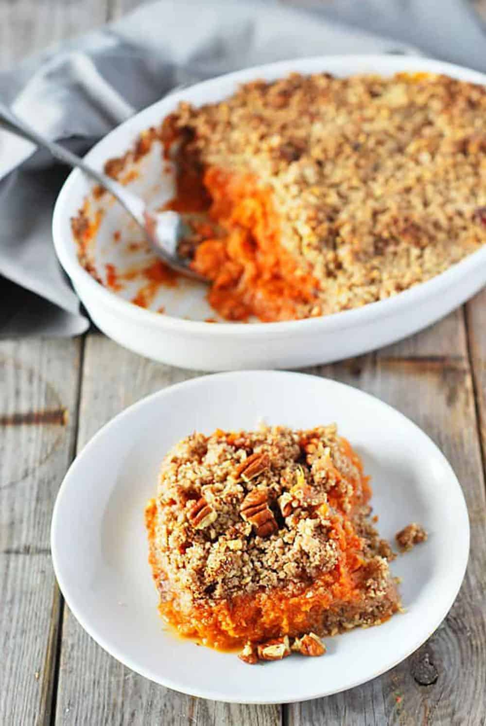Vegan Sweet Potato Souffle