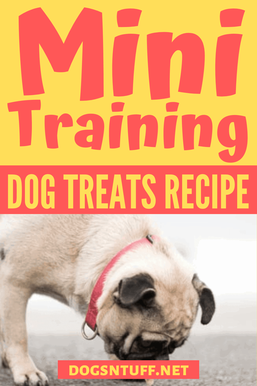 Dog Training Mini Treats Instructions