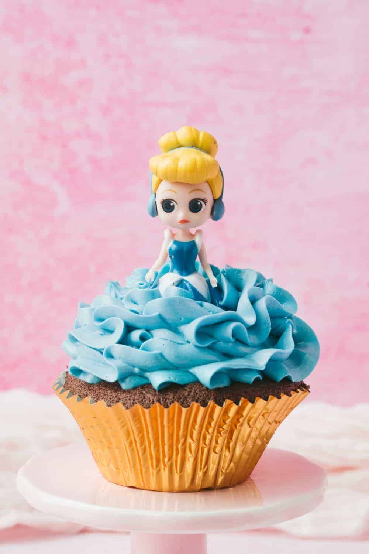 Cinderella Cupcake.