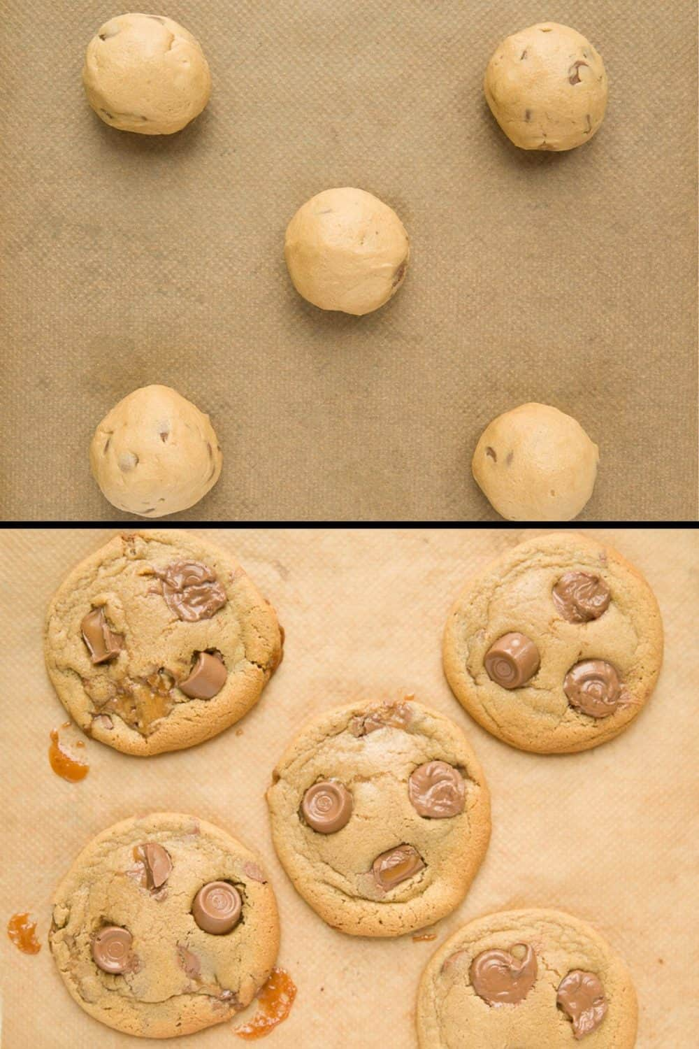 Comparison of how to bake the best cookies.