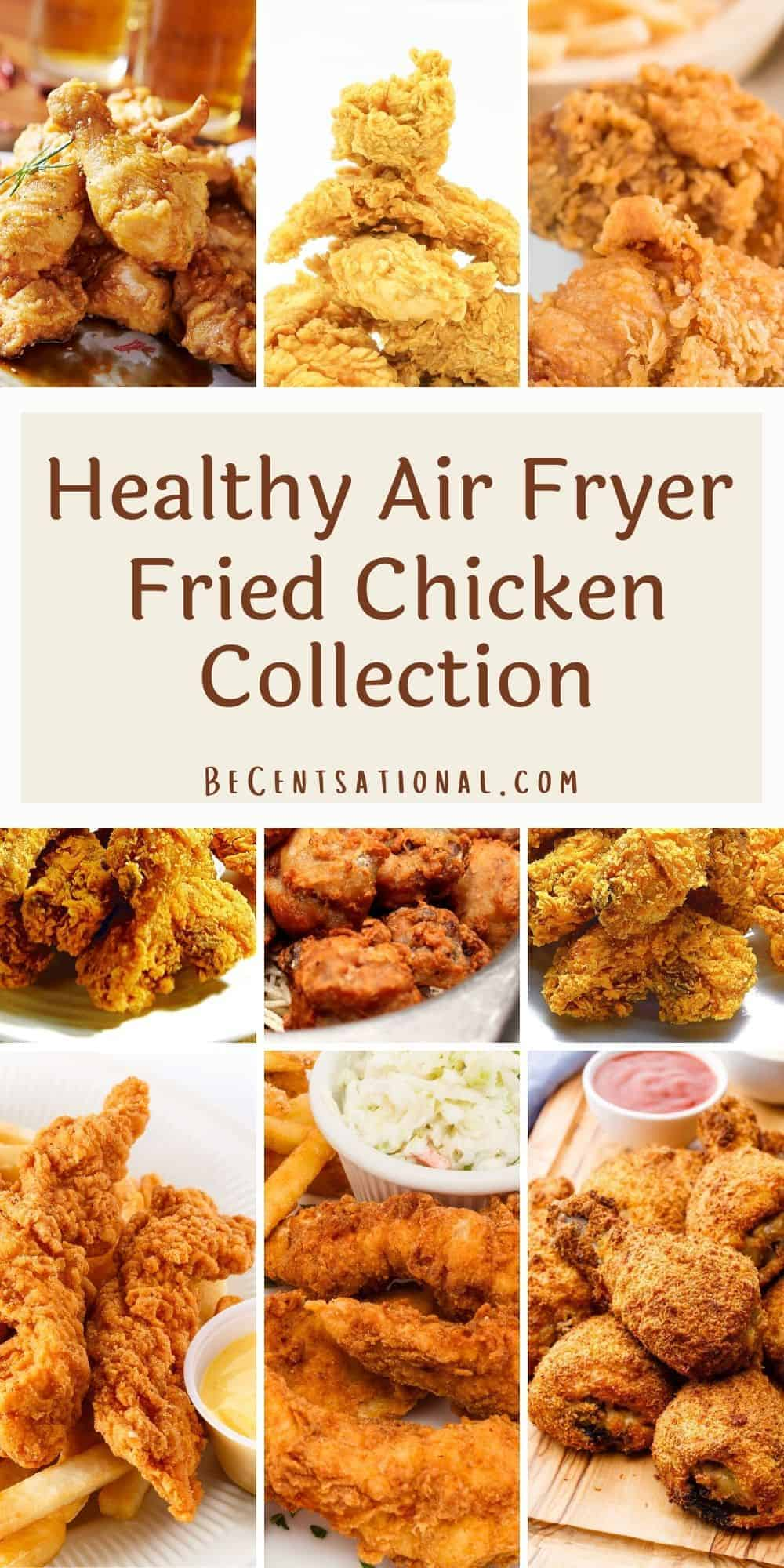Air Fryer Fried Chicken Recipe Collection