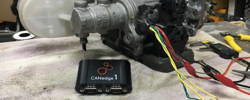 CANBUS testing the iBooster