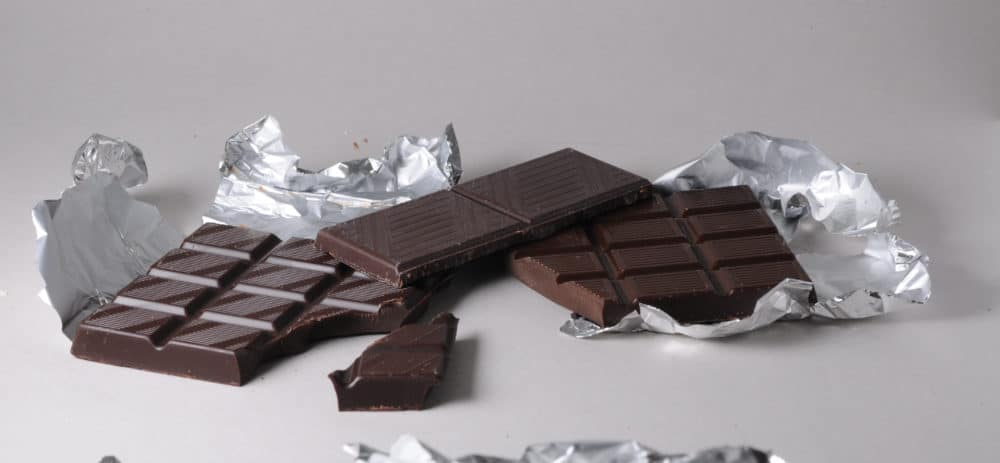 Dark chocolate adds a grown-up edge to s'mores