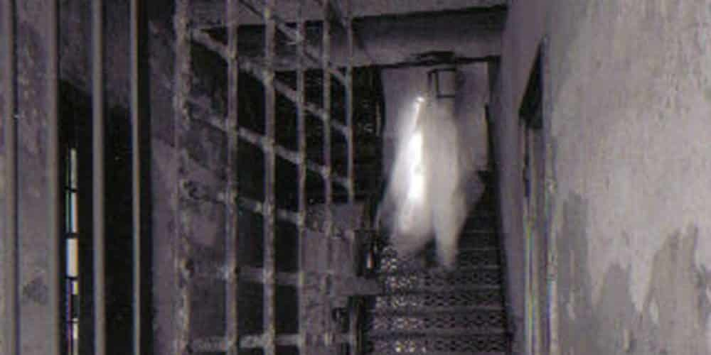 Ghost in the old jail caught on camera. Scariest Charleston ghost tour