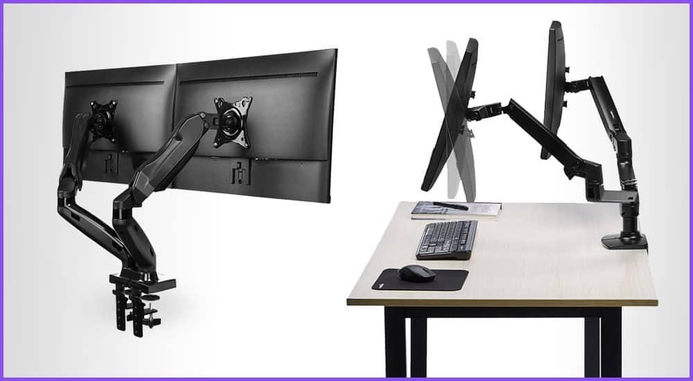 Bildschirmarme für den Schreibtisch