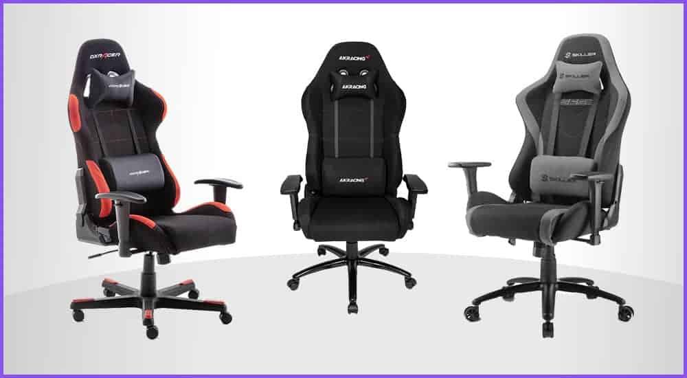 Die besten Gaming-Stühle mit Stoffbezug
