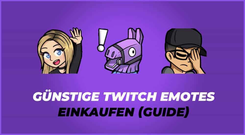 Twitch Emotes Ideen