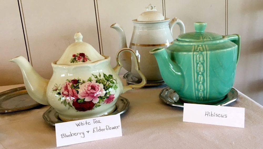 Afternoon tea at the meadowcroft inn, near staunton