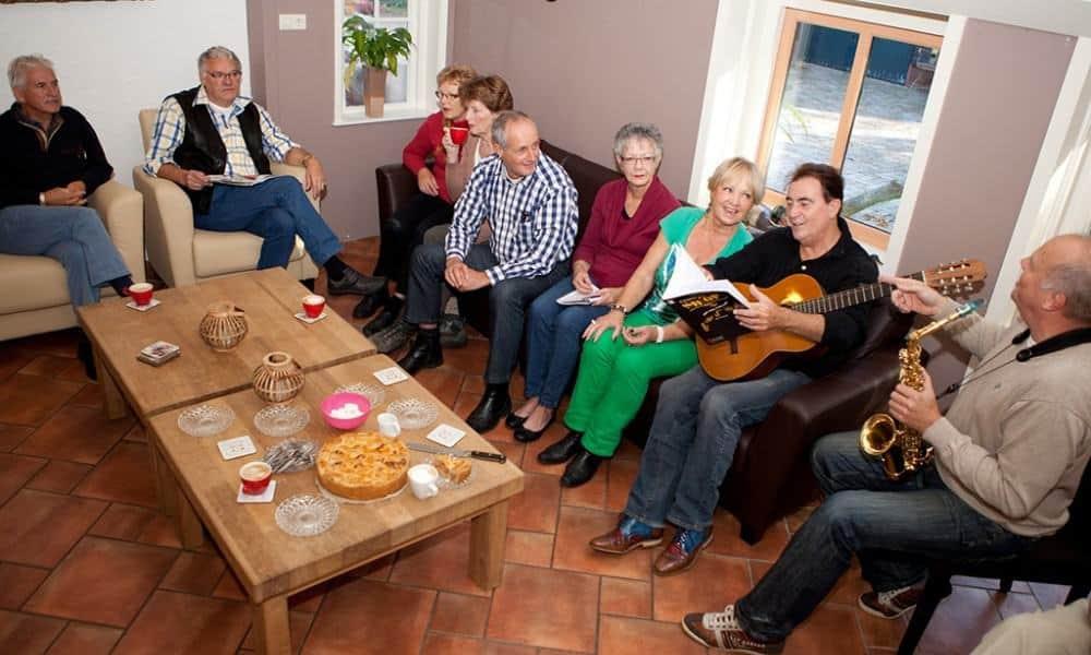 Groepsaccommodatie De Vier Eiken familieweekend
