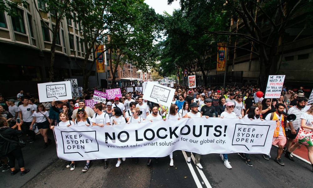 Sydney lockout laws