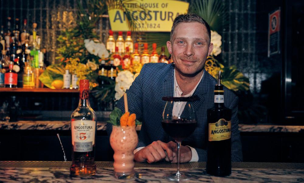 Rohan Massie wins Angostura Cocktail Challenge