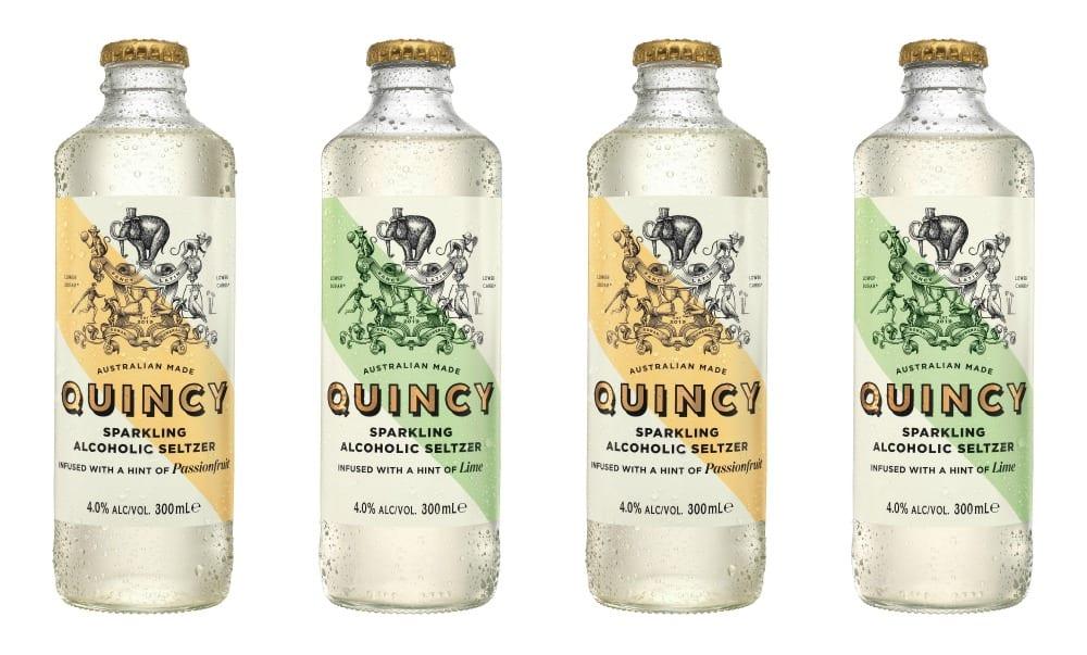 Quincy alcohol seltzer