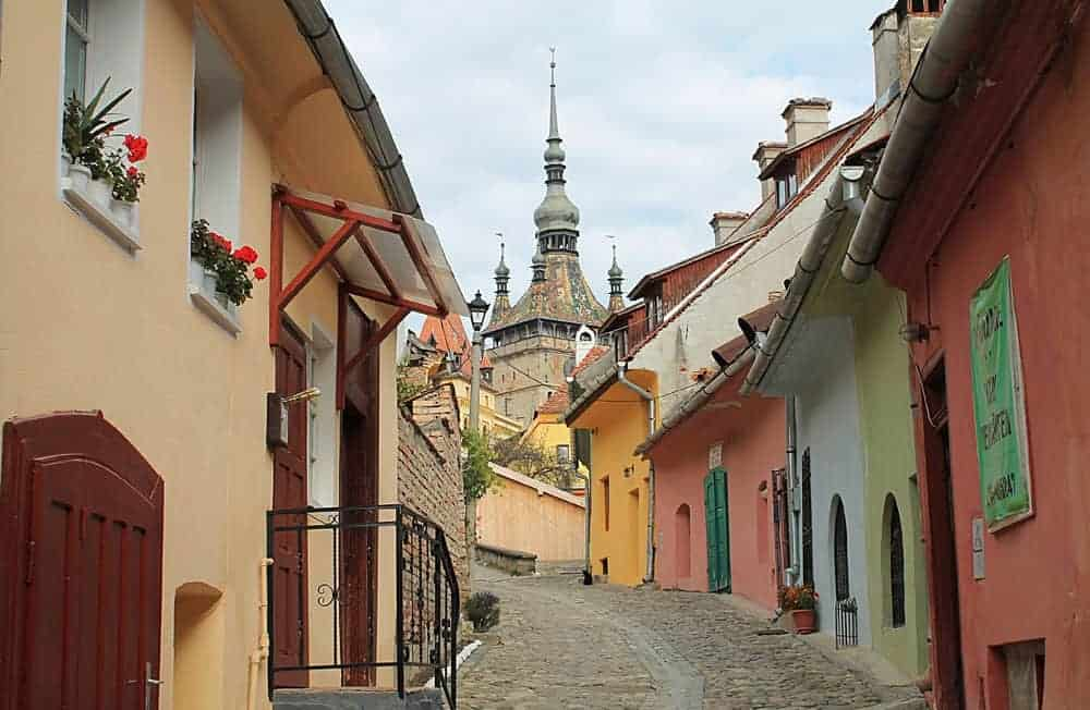 sighisoara-romania best places to visit in eastern europe