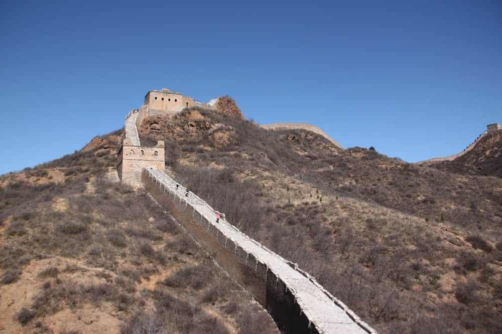 How long is the Wall of China?