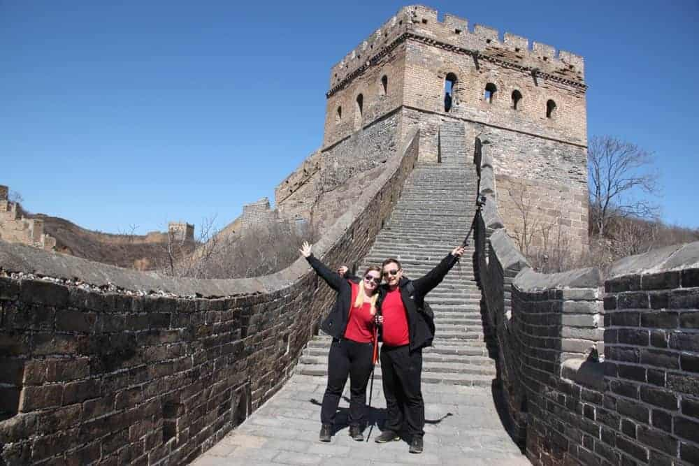Great Wall of China location
