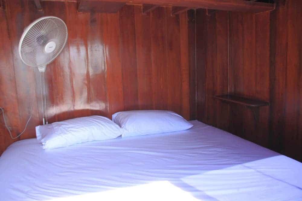 cabin at Merdeka Spa Boat