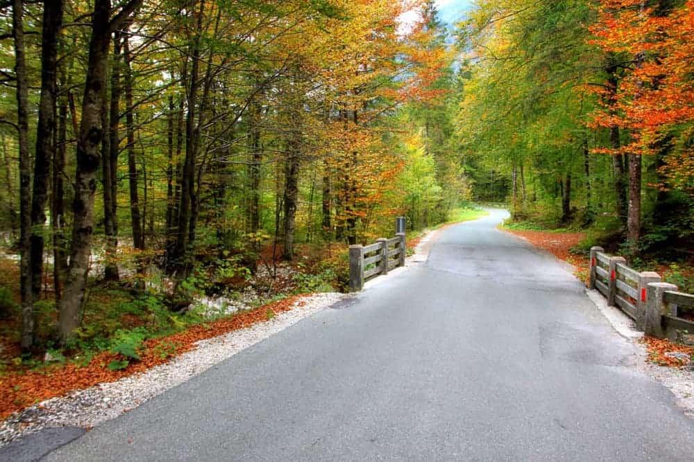 Road Triglav National Park