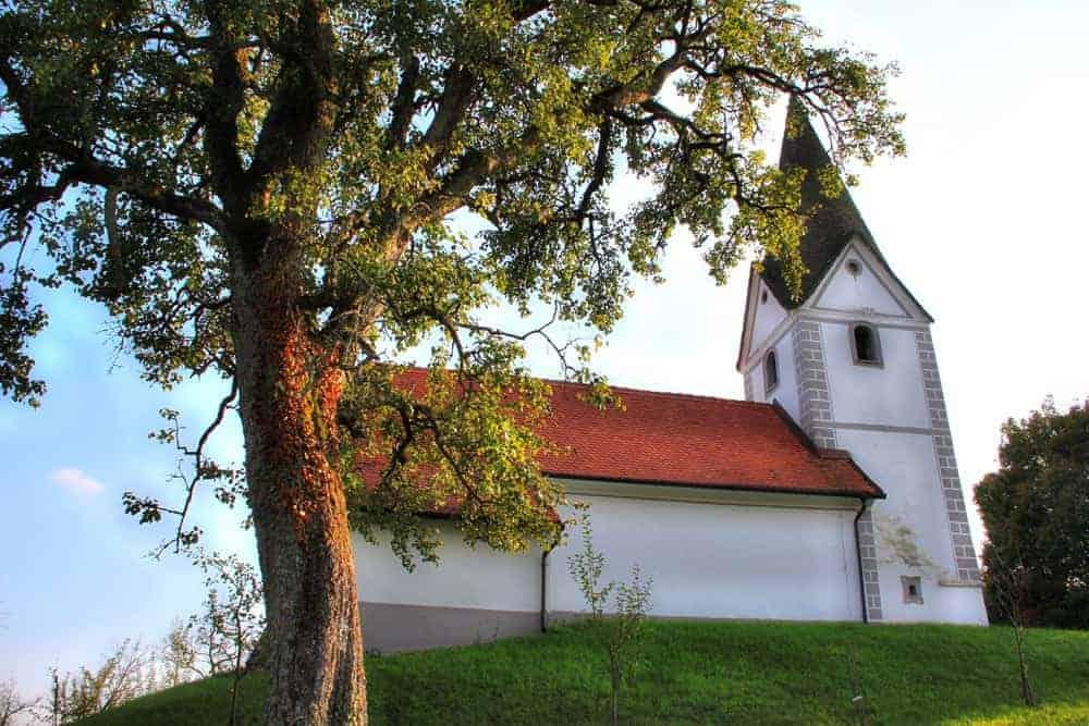 Svetega Križa church Imenska Gorca