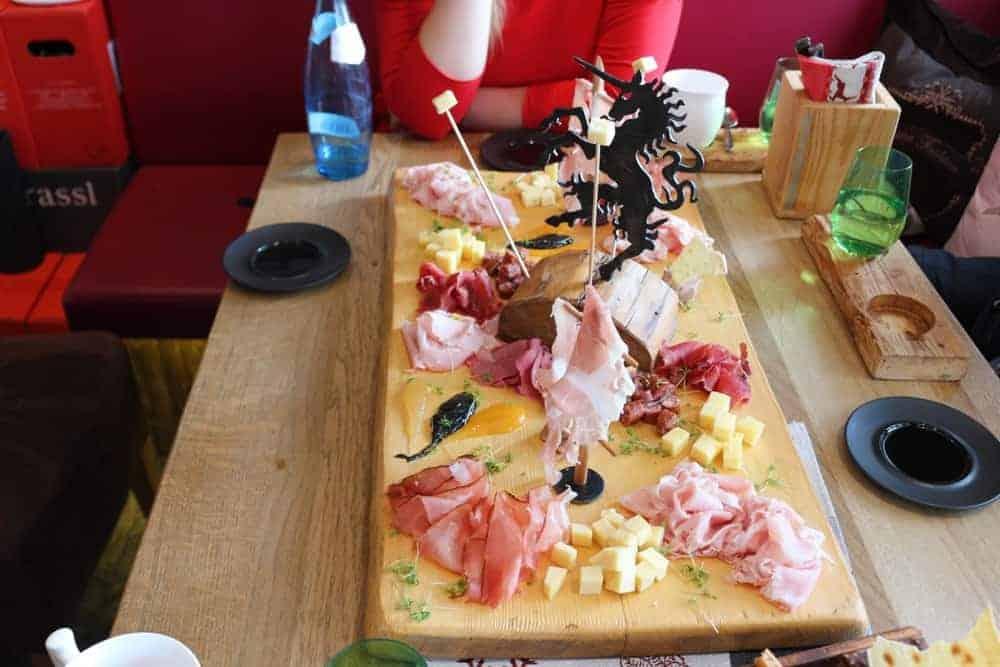 tyrolean food seefeld