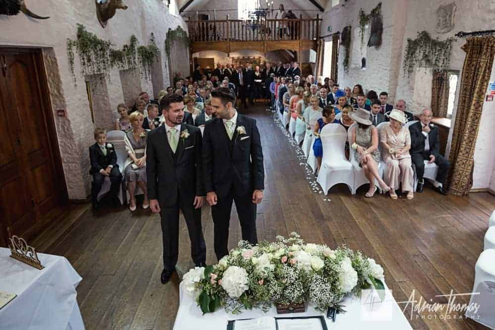 Minstrel Hall room at Miskin Manor Hotel wedding venue