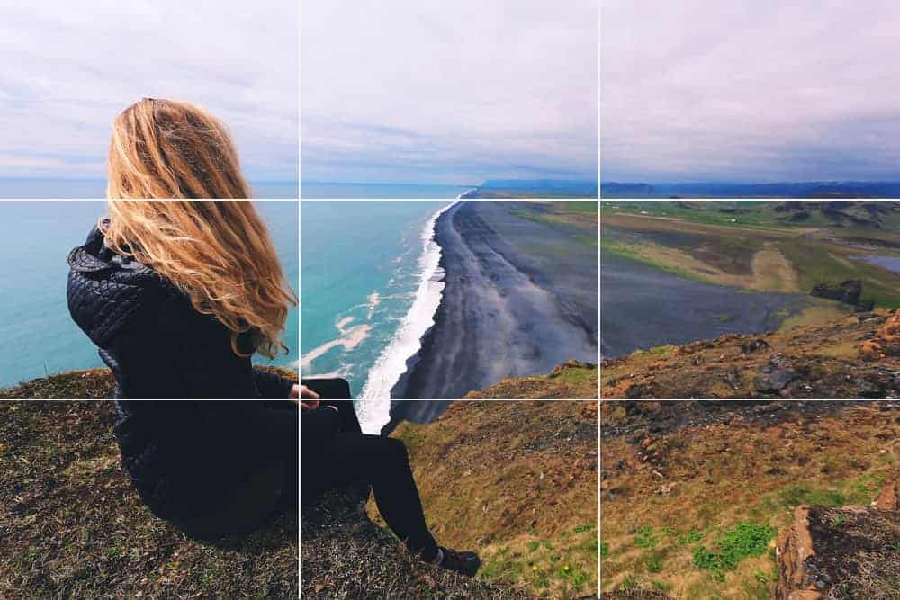 rule of thirds in landscape photography