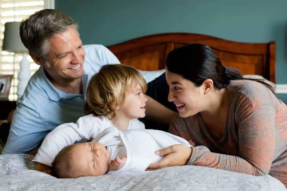 Newborn Photo Ideas family