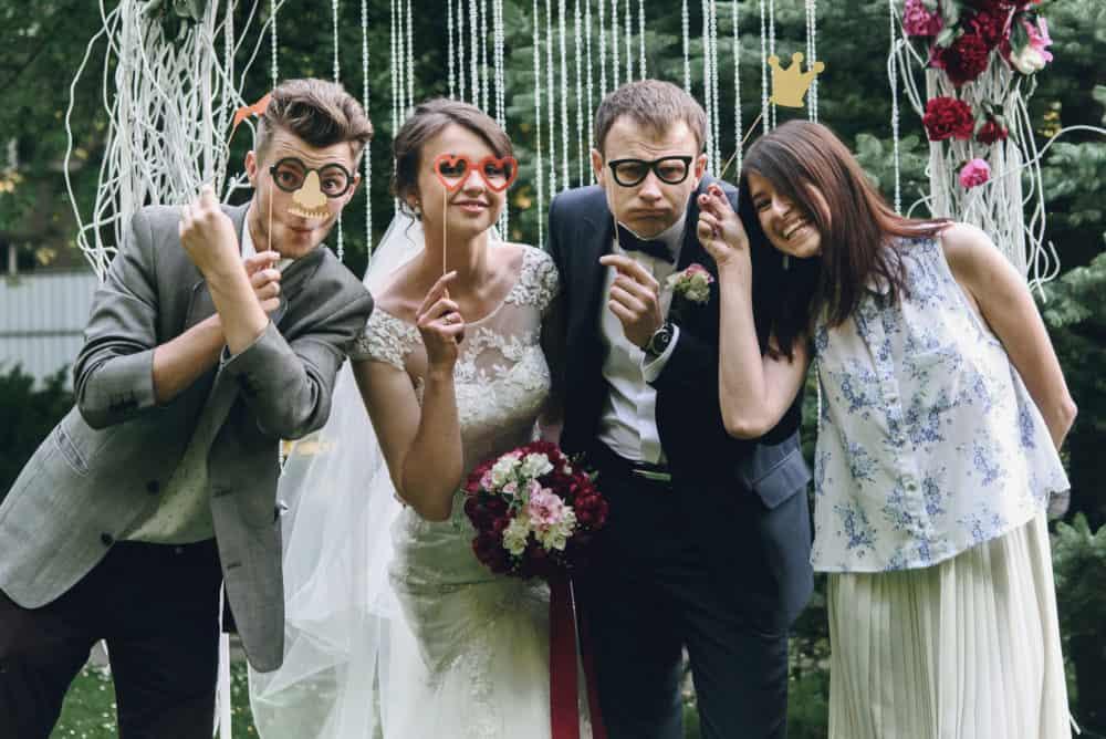 Hochzeitsfotos Fotobox